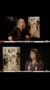Zoe Hewitt Interviewing Diane Keaton for AMC